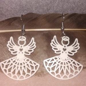 Náušnice andělé, 3D tisk