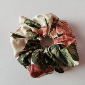 látková gumička do vlasů květy