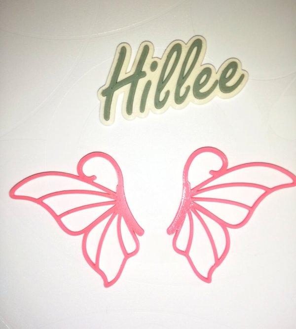 motýl růžový