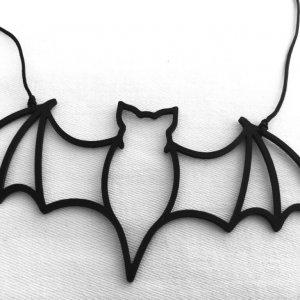 Náhrdelník netopýr