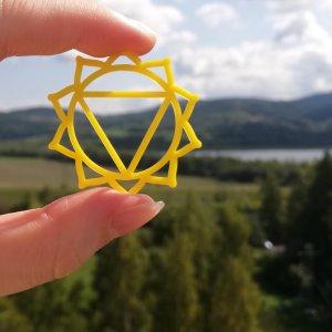 žlutá solar-plexus čakra – Manipura